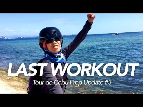 Last prep for Tour de Cebu—Update #3