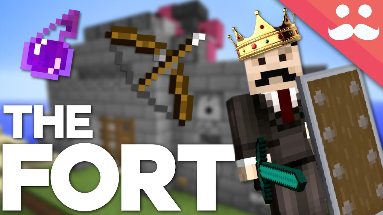 Download How to Build a FORTRESS in Minecraft!