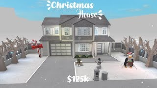 ROBLOX: Welcome to Bloxburg || Christmas House - $125K