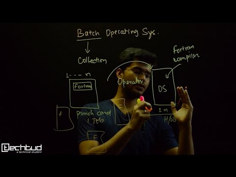 Important terminologies-1: Batch Operating System