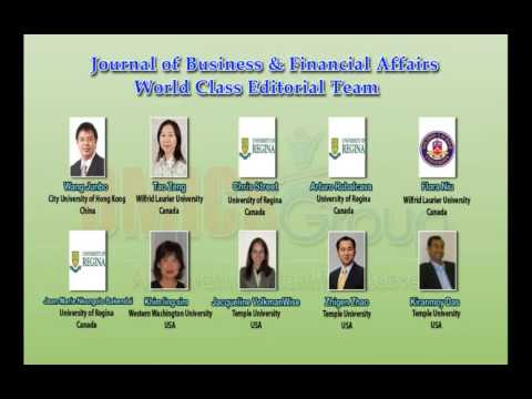 Business & Financial Affairs Journals OMICS Publishing Group