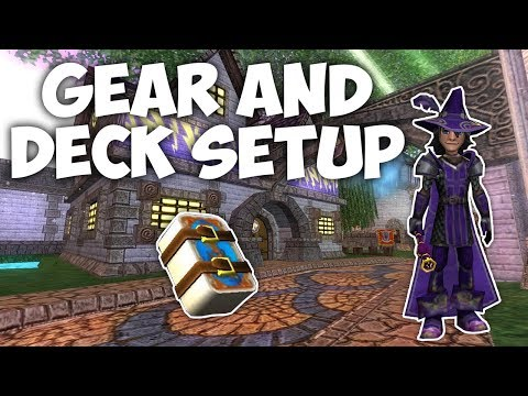 Wizard101: Magus Storm Gear And Deck Setup