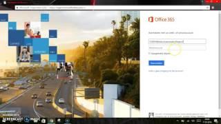 Installeren van het Office 356 pakket