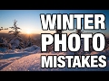 📷 Photography in Winter ❄️ 3 Mistakes you should avoid - Benjamin Jaworskyj Photography Tips