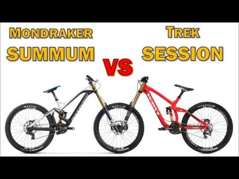 Trek SESSION vs Mondraker SUMMUM (2016)