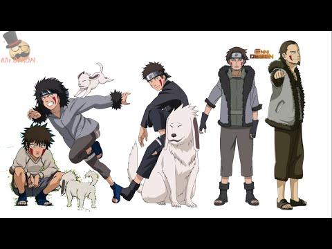 Naruto Characters: Kiba Inuzuka's Evolution
