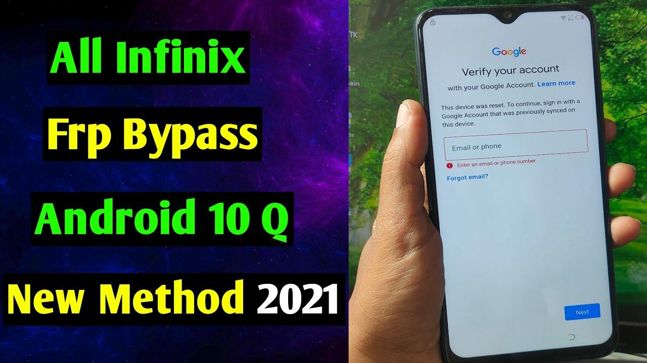 Infinix Hot 10 Play Frp Unlock/Bypass Google Account Lock | Infinix Hot 10 Play Frp Bypass | 2021