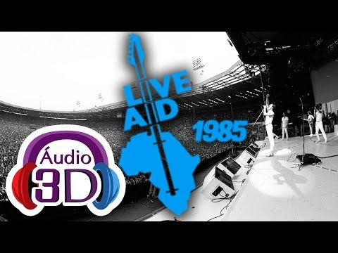 Queen - Live at LIVE AID - 3D AUDIO - (FULL CONCERT)