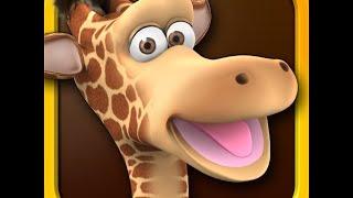 Repeat youtube video Говорящий жираф Джина! Серия 7! Забавная игра! Talking Gina! Прикол с жирафом! Мультик для детей!