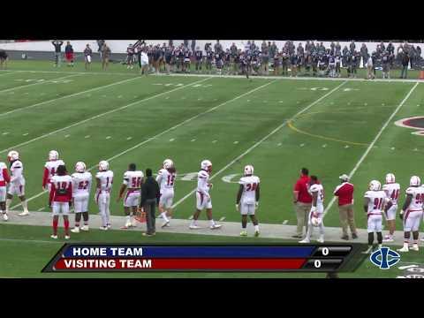 Football: Iowa Central vs Coffeyville (10/21/2017)
