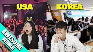 Download Mp3 5 Differences Between American Teen And Korean Teens! Gudang lagu