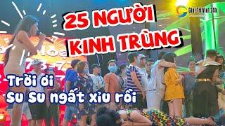 Chấn động: Lần đầu tiên lịch sử lô tô Hương Nam có 25 NGƯỜI KINH TRÙNG Su Su, DIVA Cát Thy sợ té xỉu