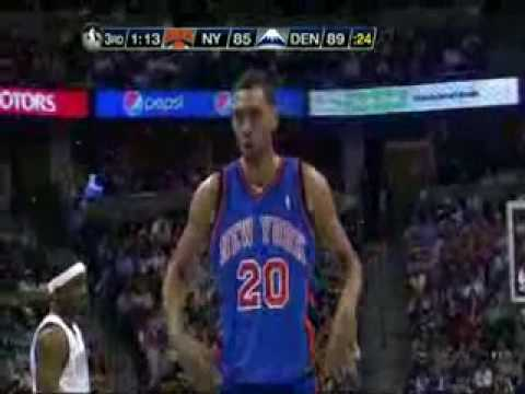 2009-2010 NBA Season - 2 27-11-2009 New York Knicks vs Denv