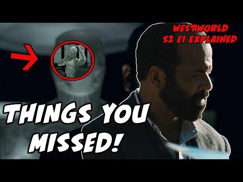 Things You MISSED! Westworld Season 2 Episode 1 Easter Eggs