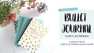 bullet journal   zajrzyj do mojego planera 4 miesiące z bujo   worqshop