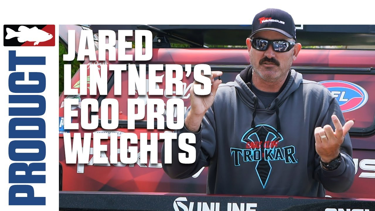 Jared Lintner Discusses HIs Favorite Eco Pro Tungsten Weights - Tackle Warehouse Product Videos