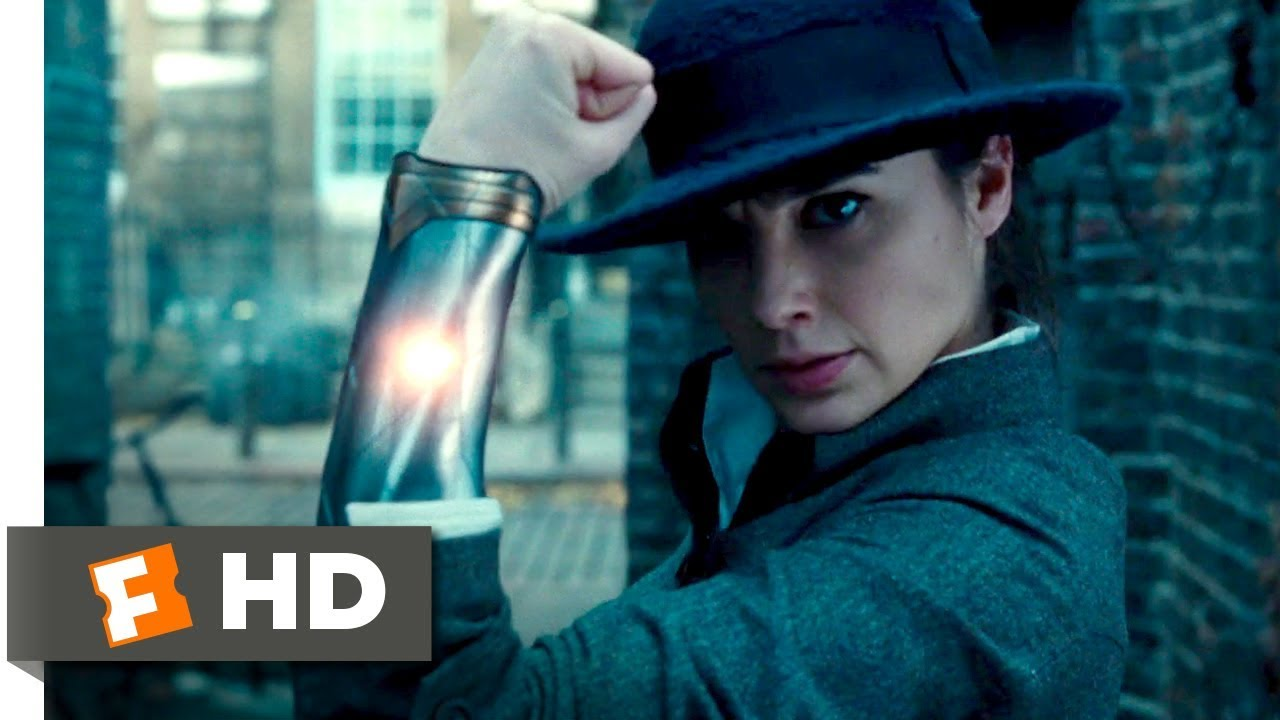 Wonder Woman (2017) - Alleyway Fight Scene (5/10) | Movieclips