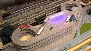 Parkhaus für Modellautos in H0