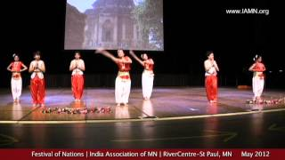 Festival of Nations-Dance-2012-1 [India Association of MN]