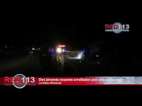 VIDEO Dos jóvenes mueren arrollados por una camioneta; el responsable se dio a la fuga