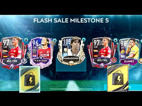 FIFA Mobile FLASH CHAIN PACK OPENING | PRIME ICON MARADONA FOR FREE | 5× 96+ PACKED | FIFA MOBILE 20