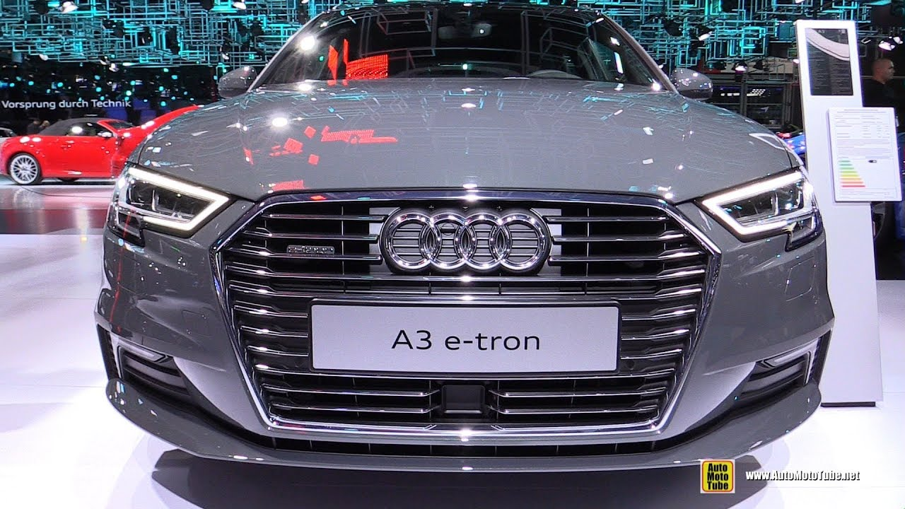 2018 audi a3 e tron exterior and interior walkaround. Black Bedroom Furniture Sets. Home Design Ideas