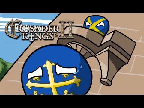 One leg, One Eye, No Peepee - Crusader Kings 2 MP in A Nutshell |