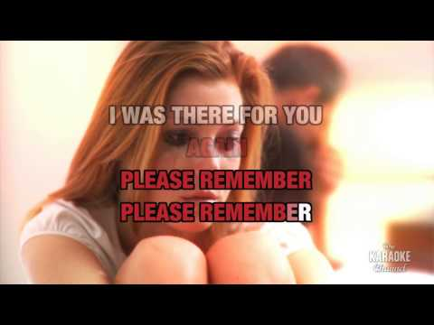 "Please Remember in the Style of ""LeAnn Rimes"" with lyrics (with lead vocal)"