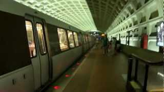 "WMATA MetroRail | ""Money Train"" 1978 Rohr 1000 Series Cars #8002-8003 @ Farragut West!"