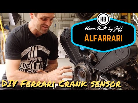 DIY Ferrari Crank Angle Sensor – Ferrari engined Alfa 105 Alfarrari build part 68