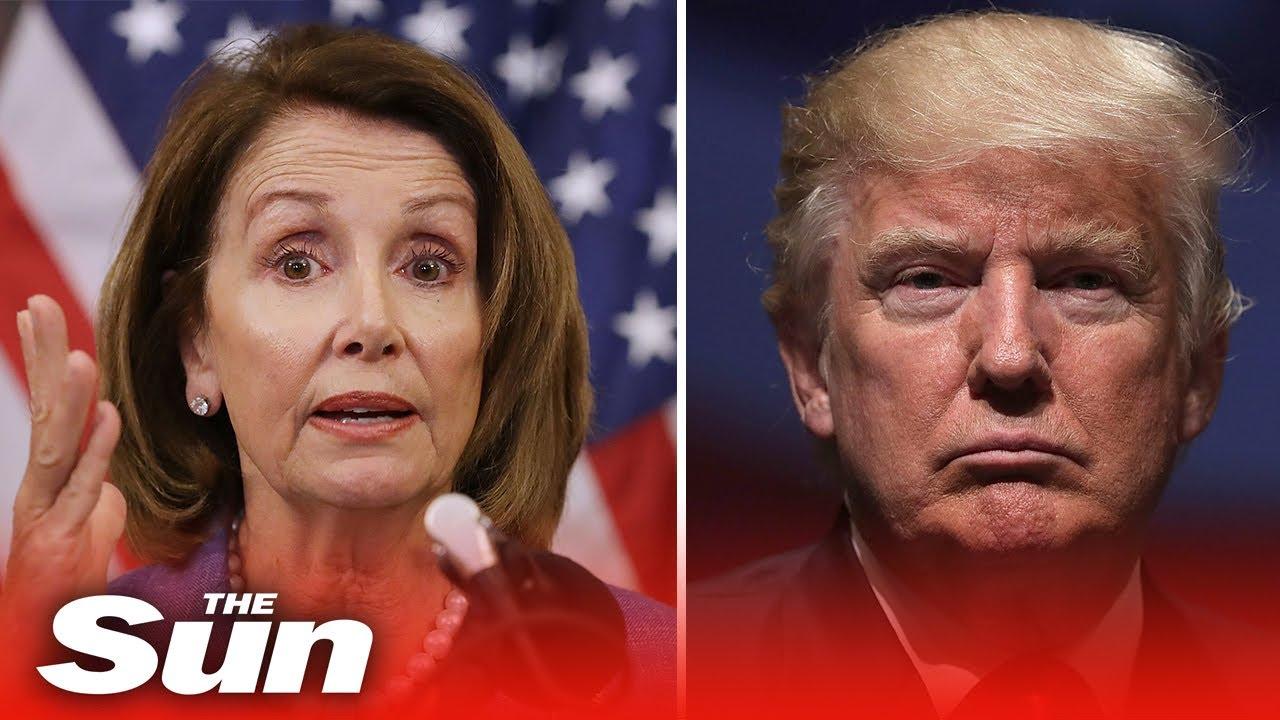 Live: Trump impeachment - US House debates impeachment trial
