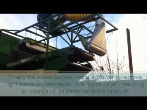 golding skip hire recycling system youtube. Black Bedroom Furniture Sets. Home Design Ideas
