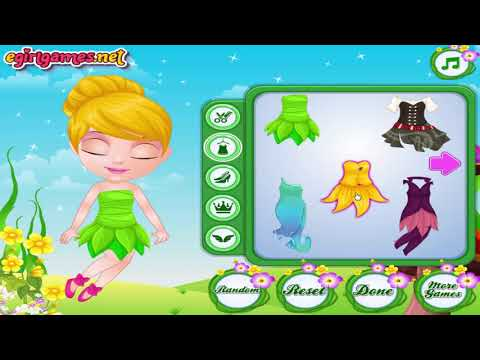 Baby Barbie Fairy Costumes   Barbie Elsa Dress Up Game for Kids 720p 30fps H264 192kbit AAC
