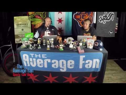 The Average Fan Sports Talk Show - Bears Monday Night Game