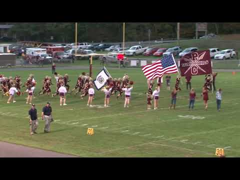 Greenbrier West Football at Pocahontas County High School Friday, Oct. 5, 2018