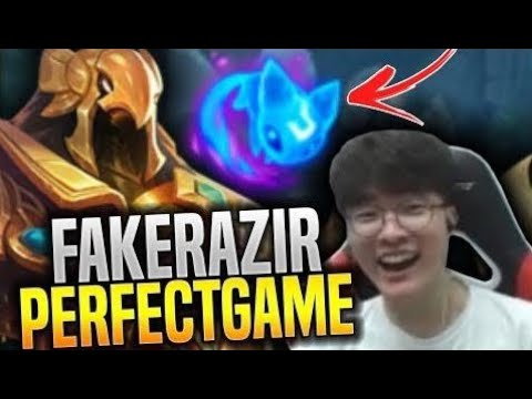 Faker Perfect Game With Azir Showing Some Korean Mechanics! - SKT T1 Faker Plays Azir New Season!
