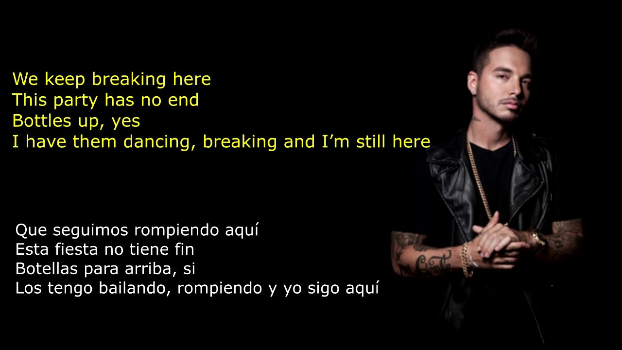 J Balvin William Mi Gente Lyrics English Translation Spanish Letra To English