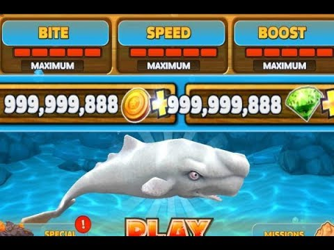 Hungry Shark Evolution unlimited Coins / Gold Hack v5.5.0 using Game Guardian (GG) (2018)