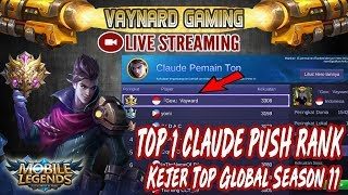 🔴[LIVE] PUSH RANK SANTAI TIER MYTHIC !! SKUY RAMAIKAN - MOBILE LEGENDS