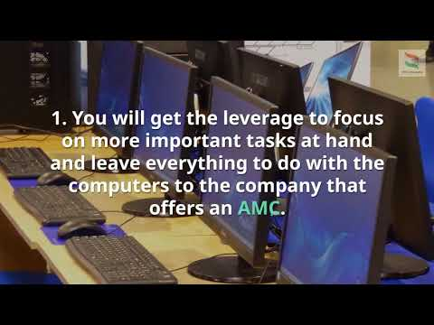 Benefits of IT AMC services in Dubai