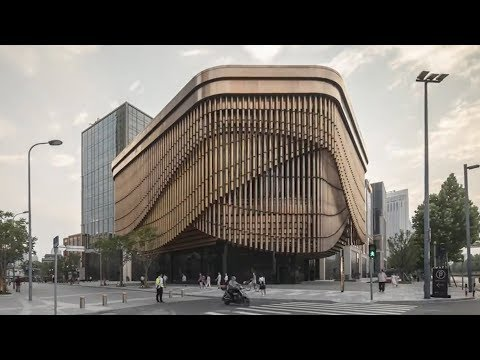 Shanghai's newest building is constantly moving