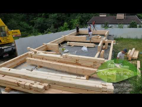 Дома из клееного бруса  под ключ   цена и проекты