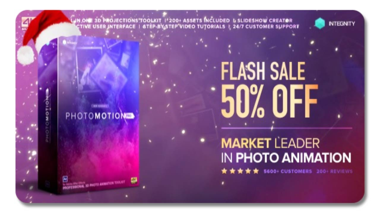 Photo Motion Pro Professional 3d Photo Animator After Effects Template Youtube