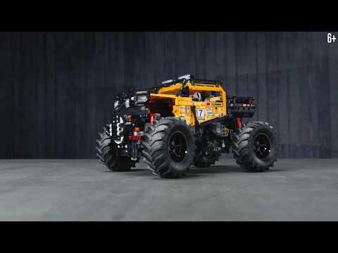 Познакосьмя с крутым внедорожником 4x4 на управлении! | LEGO Technic - 42099