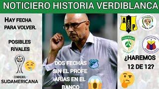 Alfredo Arias SANCIONADO | Fecha y Rival del Deportivo Cali en sudamericana | Noticiero hvb