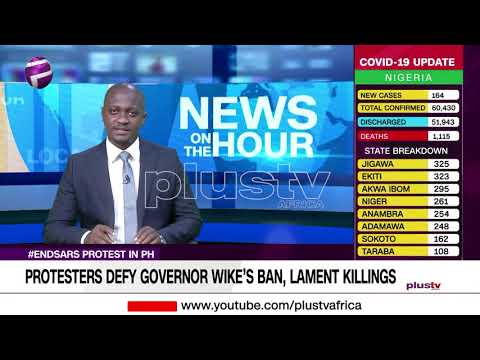 #ENDSARS: Protest in Port Harcourt (NEWS | NIGERIA)