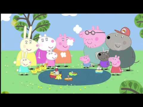 Peppa Pig (Series 2) - The Boat Pond (with Subtitles)