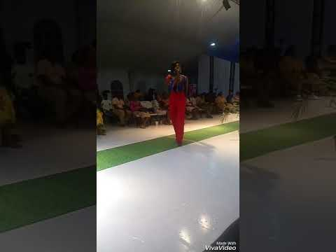 Musical interlude at the Accra Fashion Week 2017