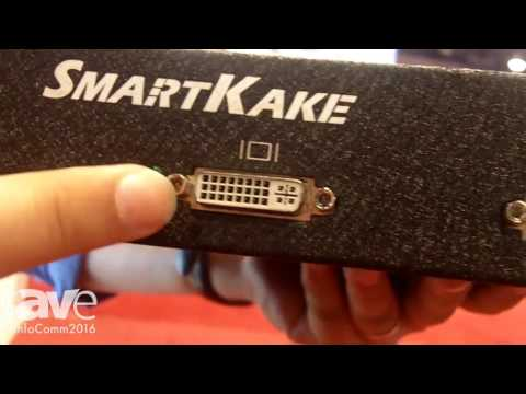 InfoComm 2016: TriColor Exhibits SMARTKAKE Media Multi-Display Processor Digital Signage Solution