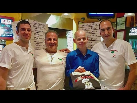 36-Year-Old Man With Cancer Wins Free Pizza for a Year, Donates It To Food Bank